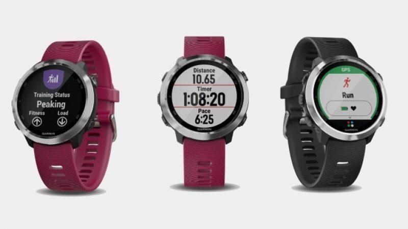 CES 2018 : Garmin présente sa nouvelle montre connectée capable d'embarquer jusqu'à 500 morceaux