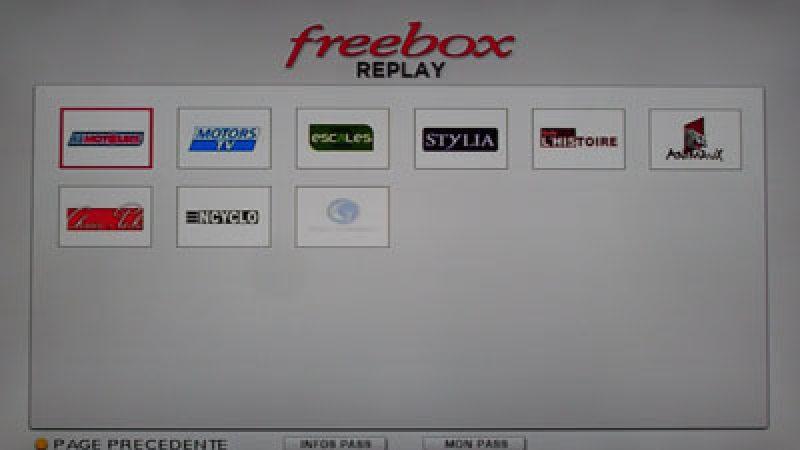 Une nouvelle chaîne va intégrer Freebox Replay
