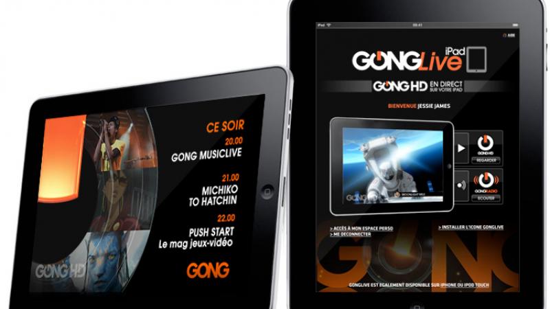 Gong accessible prochainement sur l'iPad