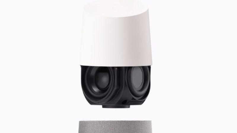 Google Home Max : une version stéréo de l'enceinte intelligente