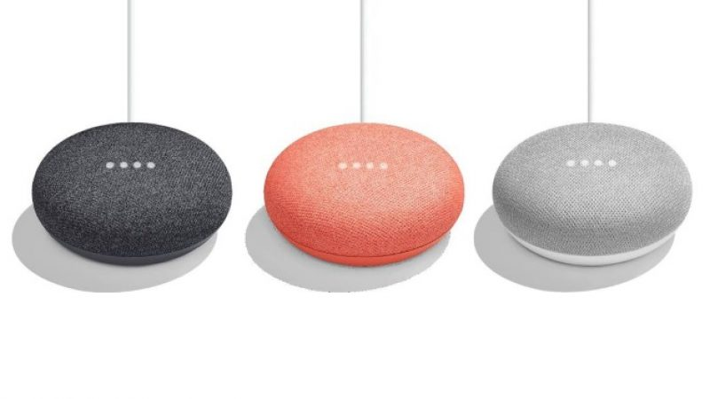 Google Home Mini : une version mini, à prix mini