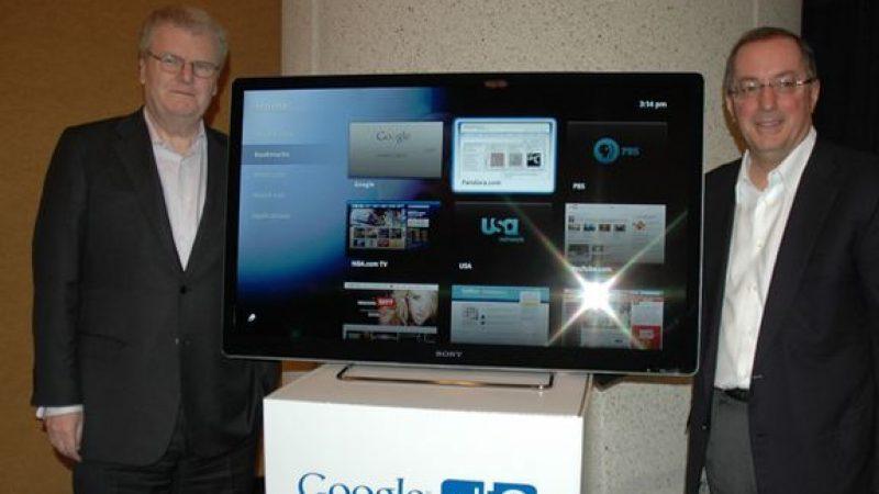 Google TV, lancement probable l'an prochain
