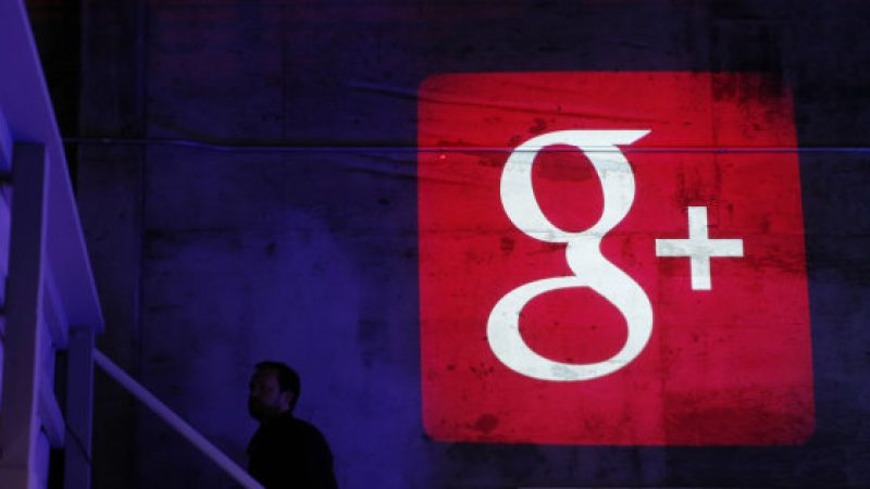 Google Plus s'engouffre dans une faille impliquant un demi-million de comptes