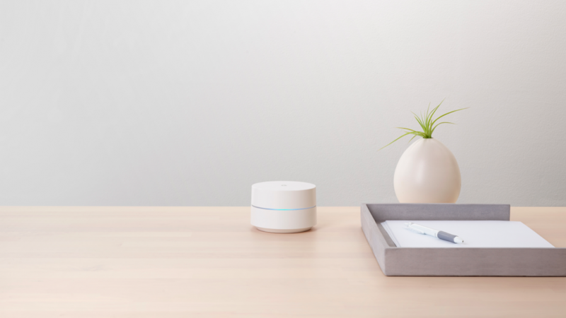Google lance son système Google Wifi aujourd'hui en  France
