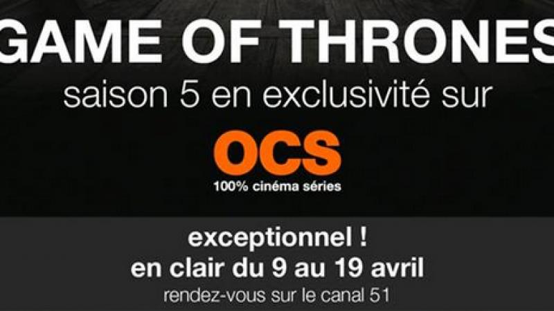 10 jours offerts sur Freebox TV pour les 4 chaînes OCS : c'est parti !