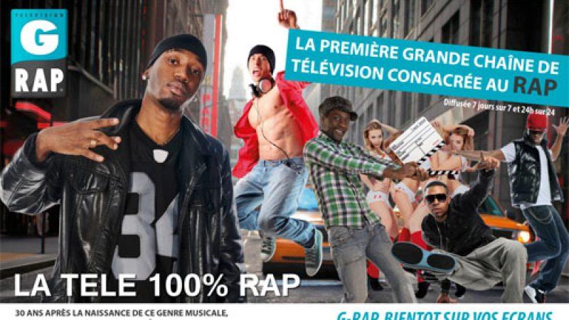 G-RAP, la première grande chaîne française consacrée au RAP, lance les négociations pour une reprise chez Free