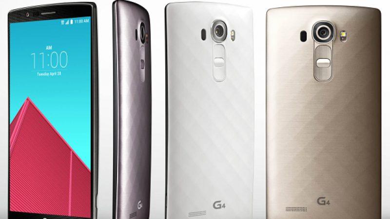 Finalement le LG G4 sera vendu moins de 700 euros