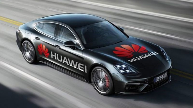 Huawei réussit la prouesse de piloter une Porsche à l'aide d'un Mate Pro 10