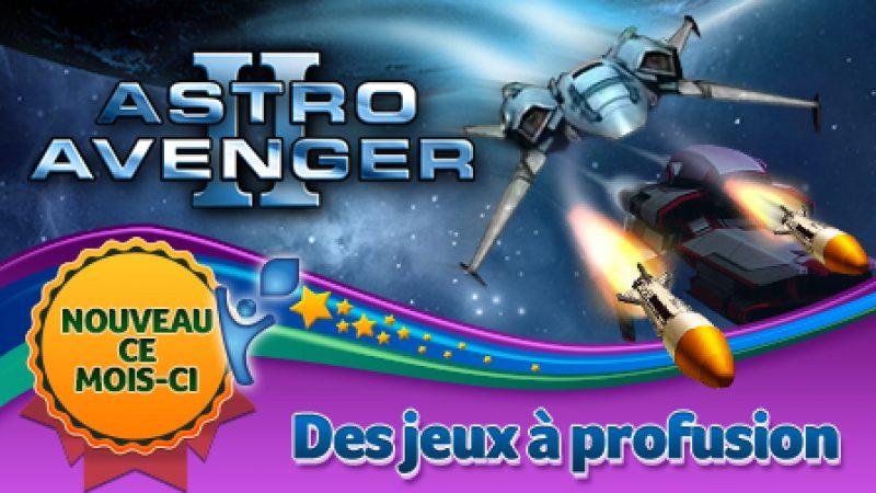 Nouveau jeu sur la Freebox Révolution : Astro Avenger 2