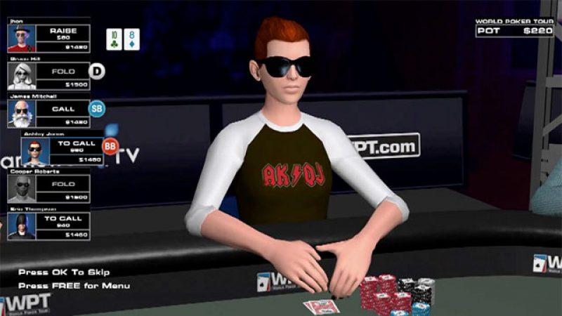 Freebox Révolution : TransGaming annonce la version multi-joueurs de World Poker Tour