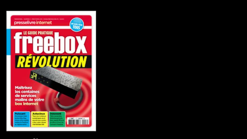 Découvrez le nouveau guide pratique Freebox Révolution dans vos kiosques