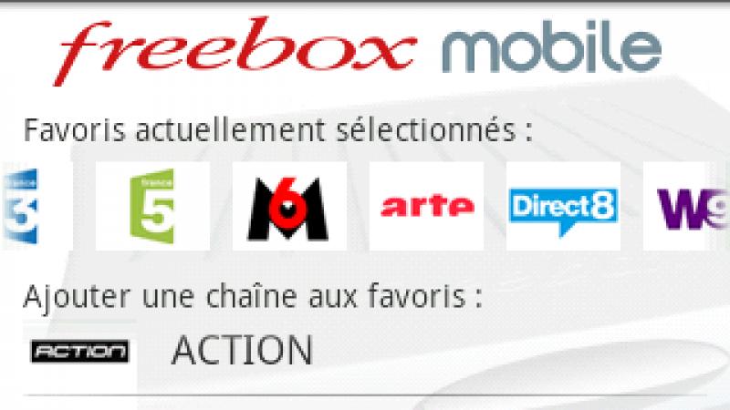 Nouvelle version pour FreeboxMobile et intégration du guide des programmes