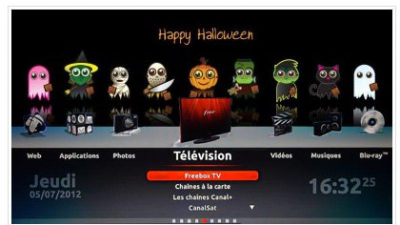 Clin d'œil : Préparez votre Freebox Révolution pour Halloween
