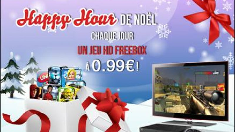 Happy Hour de Noël Gameloft sur Freebox : Téléchargez Dungeon Hunter 2