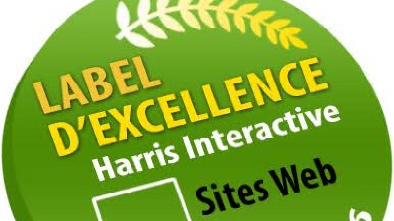 Univers Freebox obtient le Label d'Excellence Harris Interactive pour la qualité d'expérience utilisateur apportée à ses visiteurs