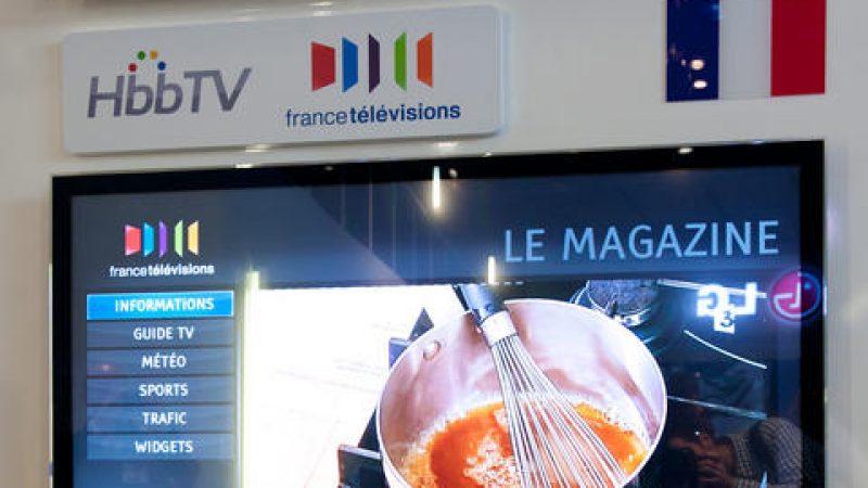 """France Télévision abandonne le télétexte pour une interface plus  """"web"""" : la Hbb TV"""