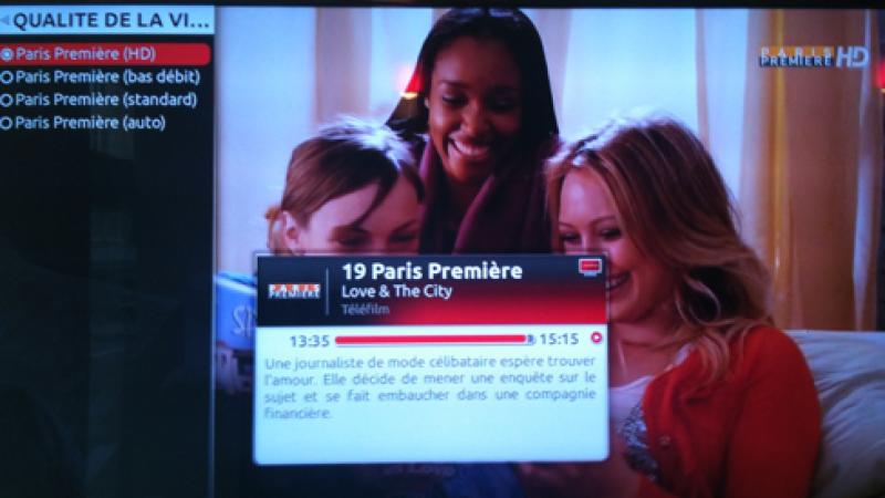 Téva HD et Paris première HD sont arrivées sur la Freebox