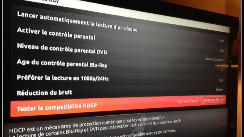 « Tester la compatibilité HDCP » de votre téléviseur avec la Freebox Révolution