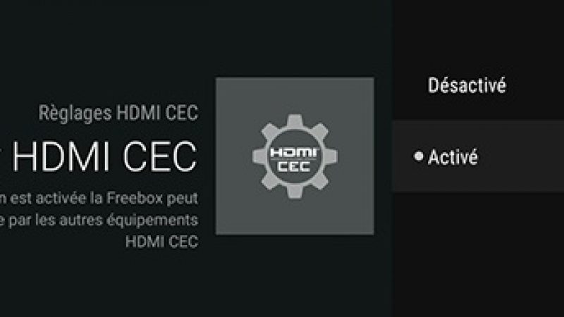 Freebox mini 4K : le HDMI-CEC est disponible