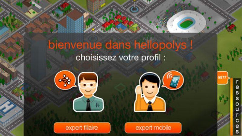 La version beta du jeu Hellopolys, pour construire son réseau 3G/ADSL est lancée