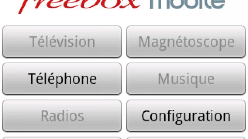 Freebox Mobile : Tous les services Freebox accessibles sous Android