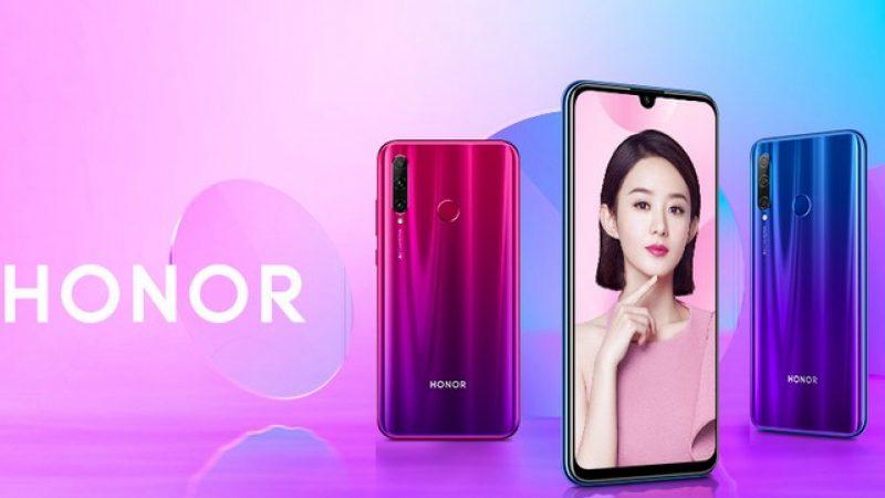 Le smartphone Honor 20 Lite annoncé pour la France : un Honor 10 Lite avec une partie photo plus étoffée