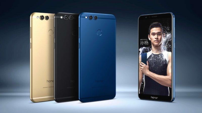 Honor 7X : arrivée imminente en France du nouveau smartphone bord à bord de la marque
