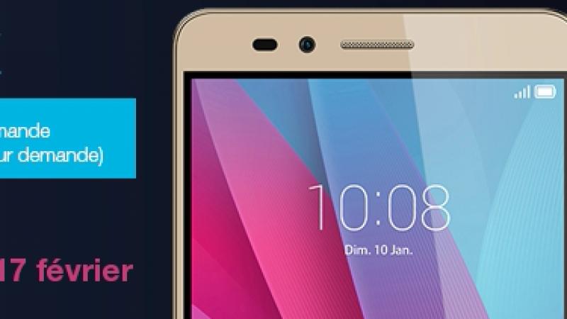 Le Honor 5X est arrivé chez Free Mobile, avec une réduction et un accessoire offert