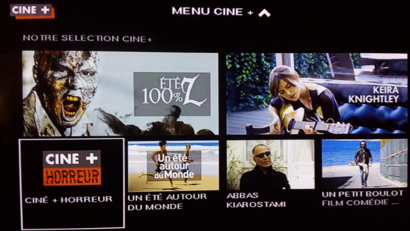 Canal lance la chaîne Ciné+ Horreur