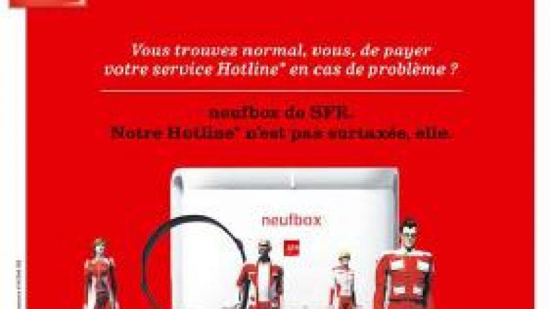 SFR tacle Free sur la hotline surtaxée