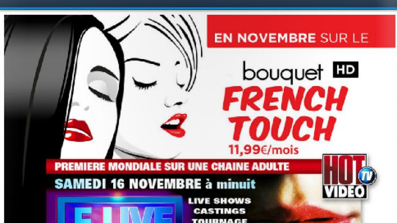 Une chaude première mondiale sur la Freebox et sur Hot Vidéo TV  le 16 novembre prochain