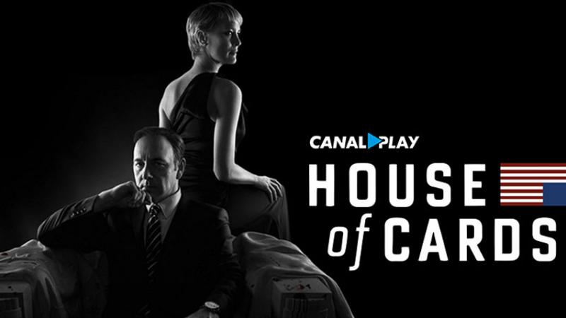 Les trois saisons d'House of Cards à 1€ sur Canal Play, seulement pour les abonnés Freebox