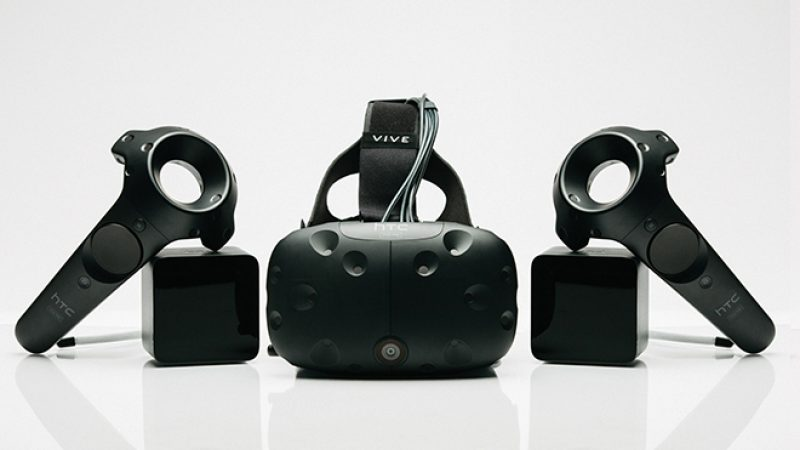 HTC dévoile le prix en France de son casque de réalité virtuelle VIVE