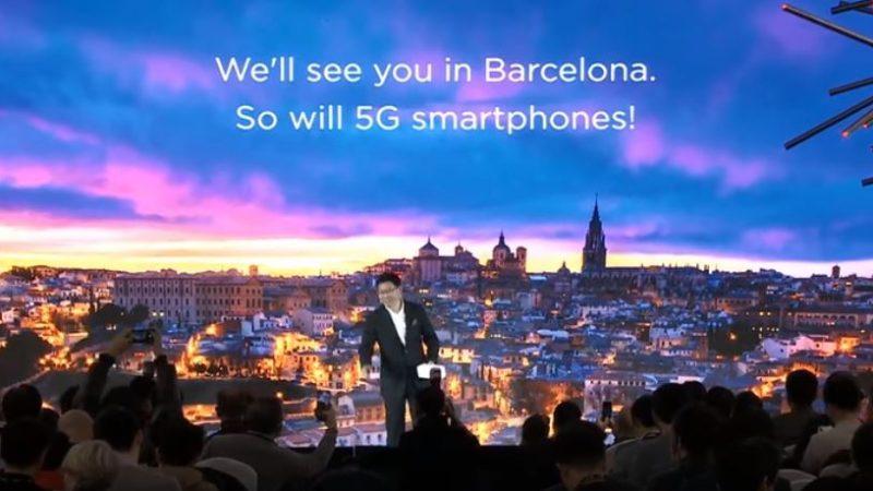 Huawei annonce l'arrivée de son smartphone 5G pliable et promet une vitesse supérieure à tous ses concurrents