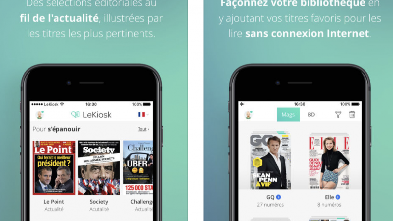 Abonnés Freebox Delta : l'application iOS LeKiosk se met à jour, le mode de lecture intelligente évolue