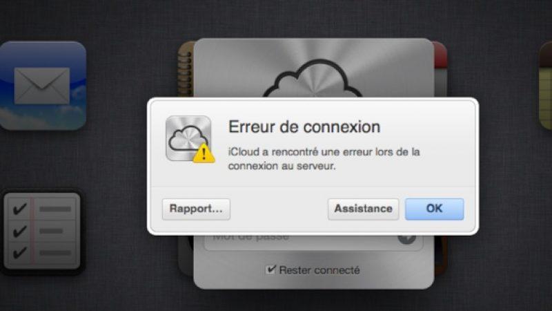 SFR : Des difficultés de connexions aux services d'Apple pour les abonnés ADSL/FIbre.