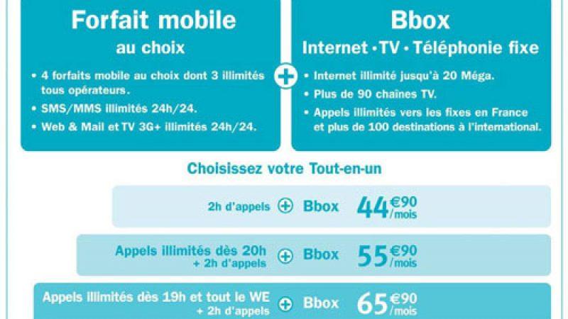 Bouygues Télécom lance ideo, son premier forfait quadruplay