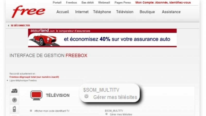 Exclusif : Freebox HD : L'option Multi TV imminente ?