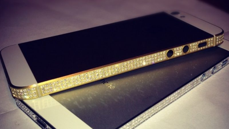 iPhone 5 : Une version de luxe à 18 800 €