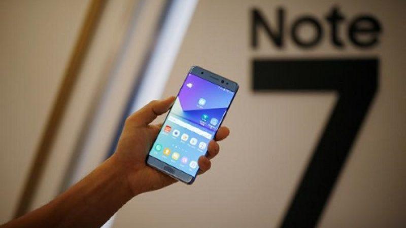 Samsung suspend la production de son Galaxy Note 7