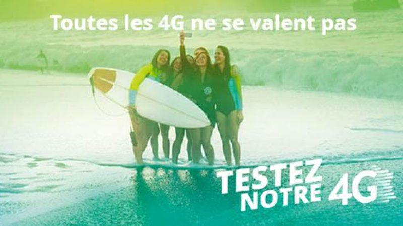 Bouygues Télécom propose de tester la qualité de son réseau 4G en offrant une carte SIM de 10Go