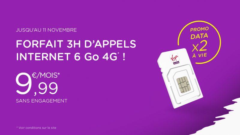 Virgin Mobile prolonge son offre promotionnelle permettant de doubler la data