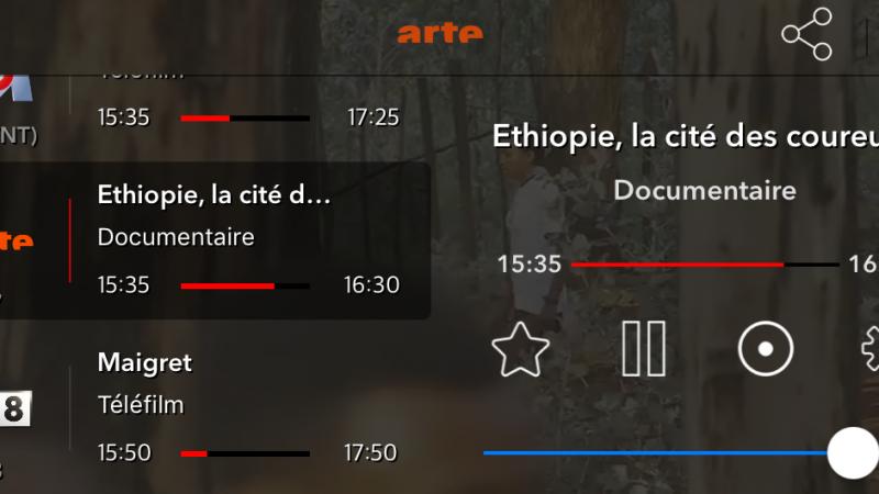 """Mise à jour de l'application """"Freebox TV HD en direct"""" sur iOS : accédez à vos programmes et enregistrez les en temps réel"""