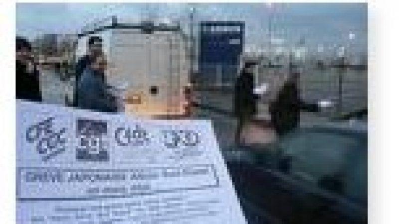 [MàJ] Centrapel : Des salariés en grève