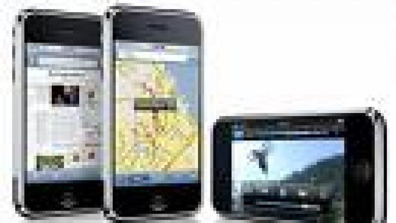 L'iPhone 3G disponible chez SFR à partir du 8 avril