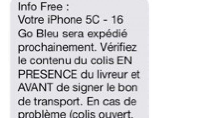 iPhone 5C : les livraisons avancent chez Free Mobile