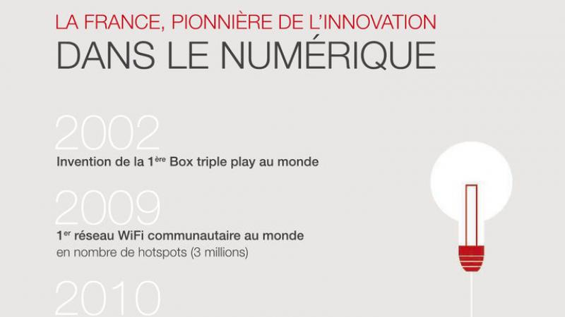 Free communique sur ses innovations et met en avant « la France qui gagne »