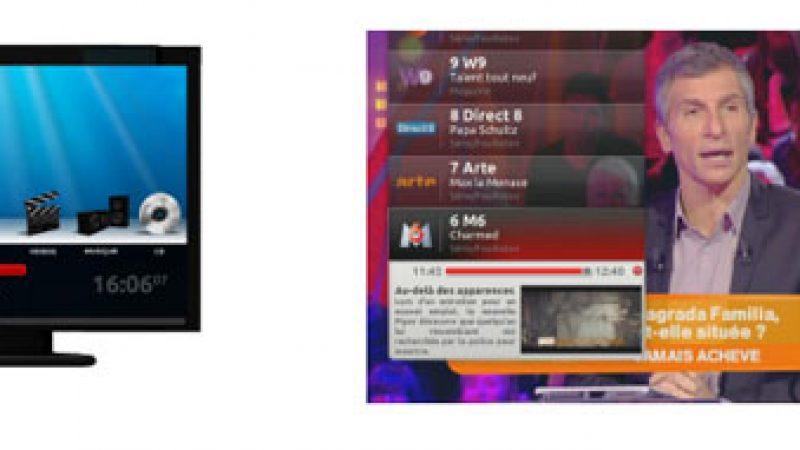 Freebox TV : Nouvelle interface TV en 3D