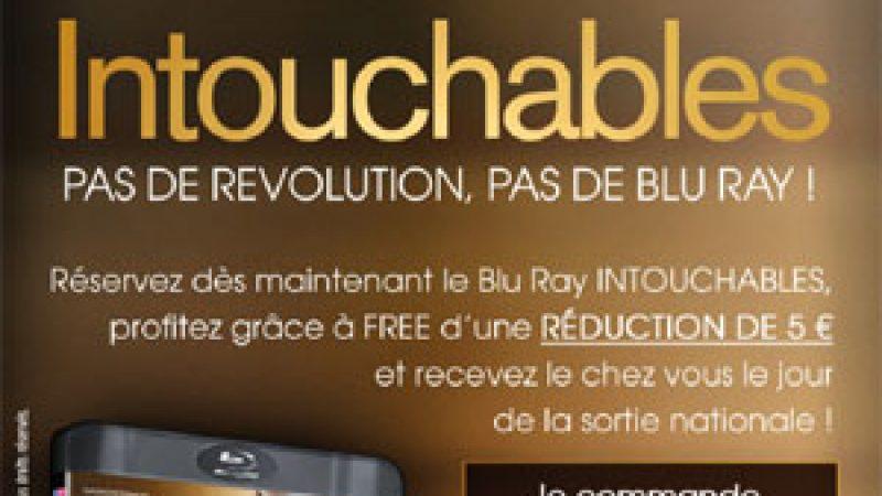 Offre Spéciale Freenautes : recevez le Blu-ray d'intouchables à tarif réduit le jour de sa sortie