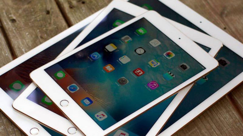 iPad 2018 : disparition du bouton Home et intégration de Face ID